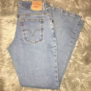 Women's Levi's 550 classic relaxed bootcut Jeans